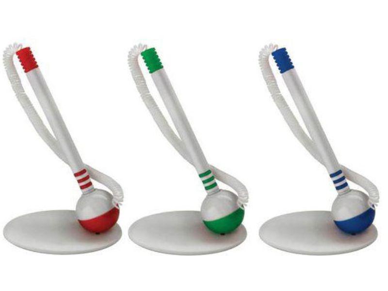 Ручки с логотипом на подставке